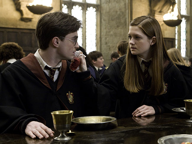 Where would Harry Potter and Ginny Weasley be today?