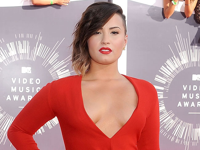 Demi Lovato sends Twitter troll a very stern message