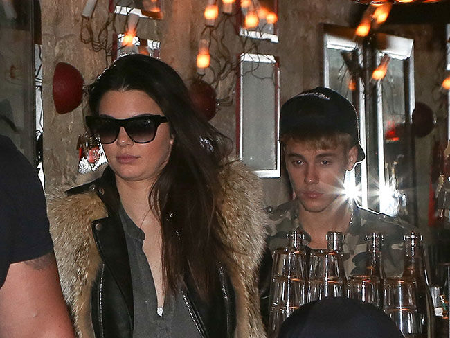 Kendall and Justin caught on a date!