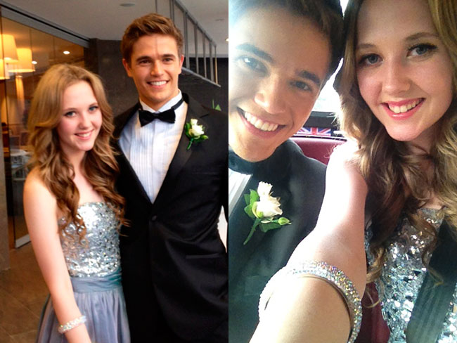 Nic Westaway was my formal date