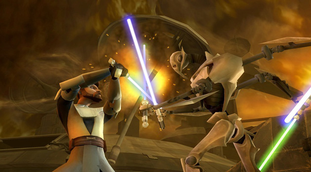 Star Wars: The Clone Wars - Lightsaber Duels