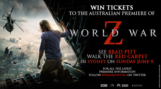 WIN! World War Z Australian Premiere Tickets