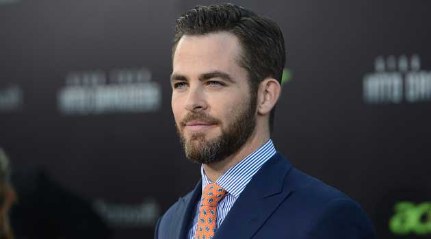 Chris Pine Set For Stretch