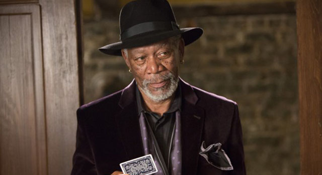 Morgan Freeman Finds Lucy