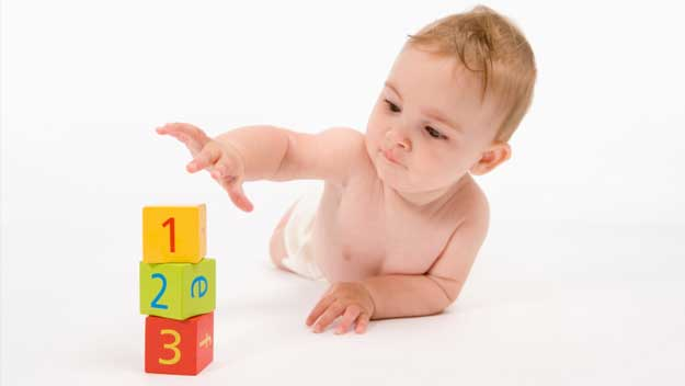 Baby play: birth to six months