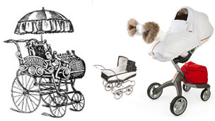 The evolution of the pram
