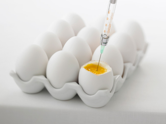 Women with age-related infertility may consider a donor egg.