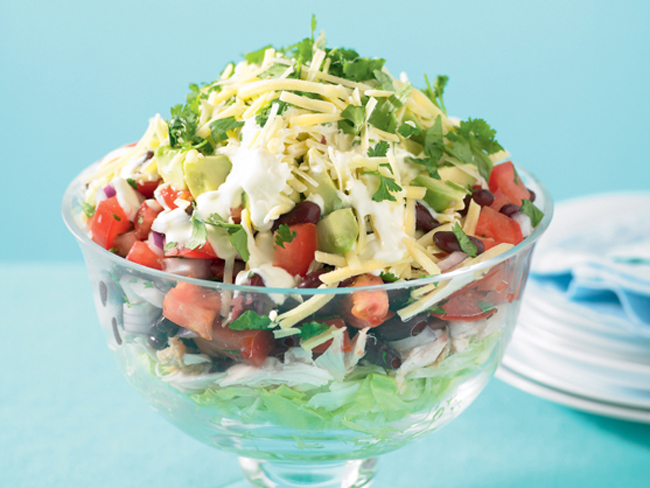 Mexican Layered Salad