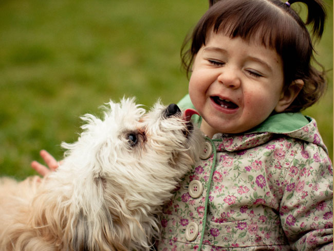 Protecting kids from pet germs & worms
