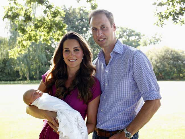 Prince George's christening: all the details