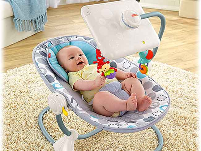 'Evil abusive' bouncy seat