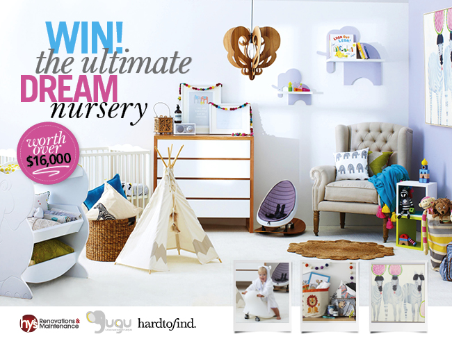 Win a $16,000 nursery makeover