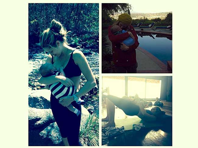 Actress Teresa Palmer shares breastfeeding photo with son Bodhi Rain