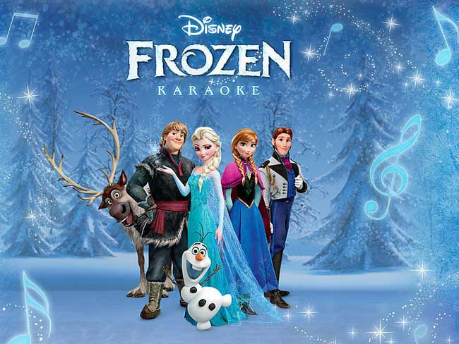 Frozen Karaoke iPad app set for sing-a-long superstardom