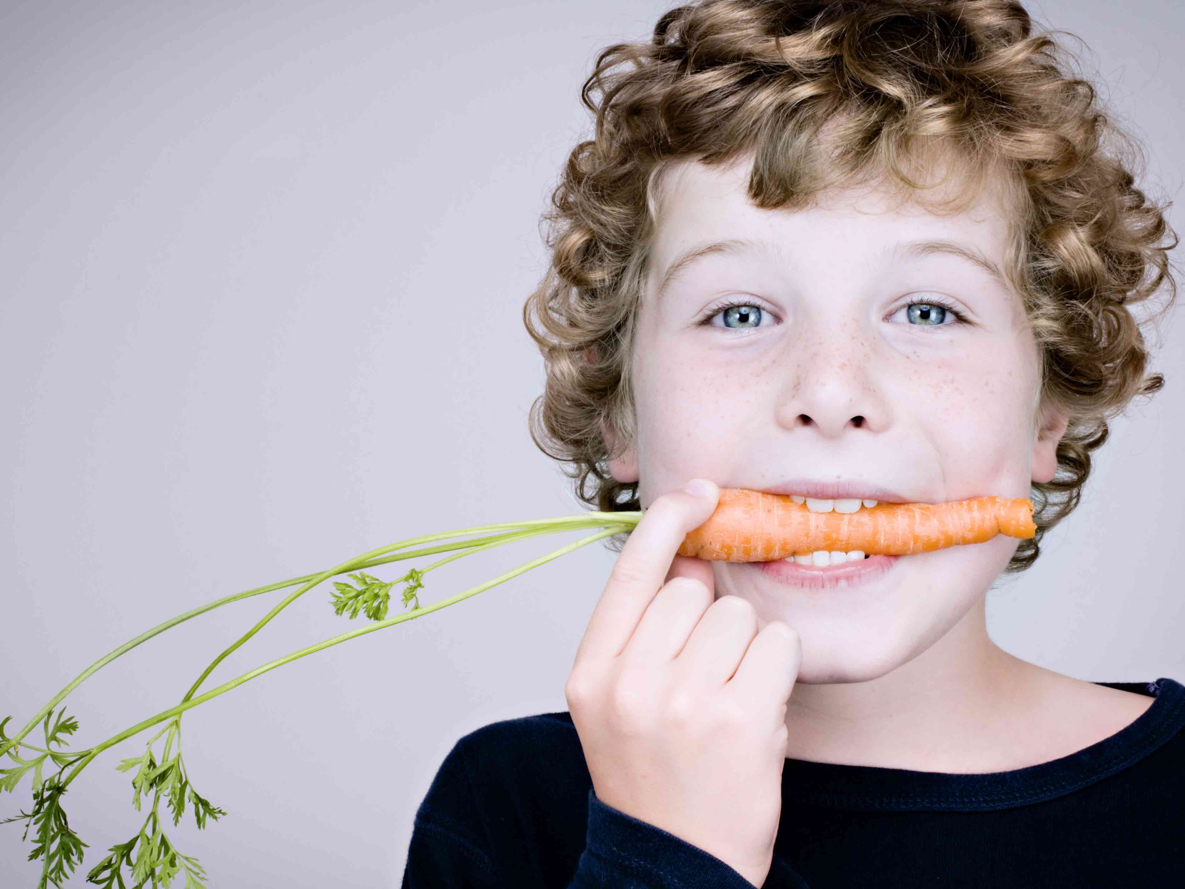 Getting kids to eat vegies