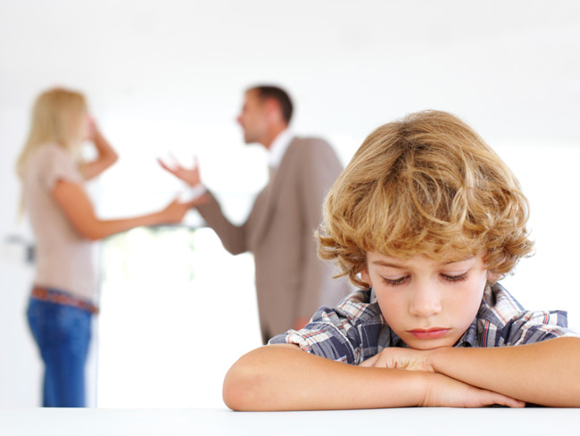 divorce and child behaviour