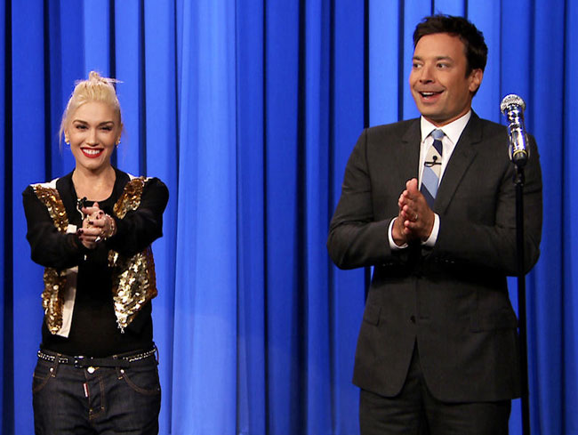 Gwen Stefani and Jimmy Fallon's Lip Sync Battle