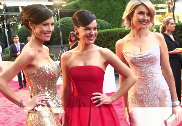 WATCH NOW: Red carpet frocks