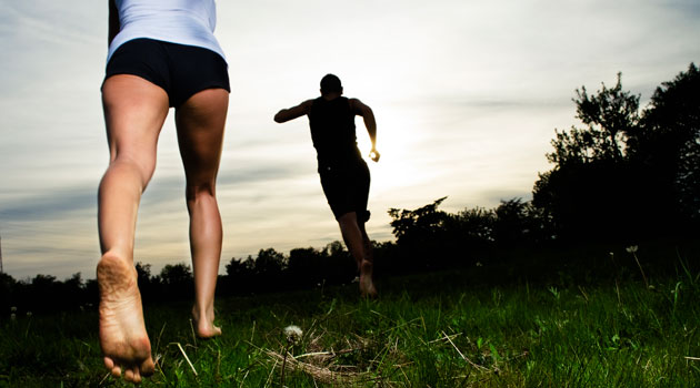 Is barefoot running best?