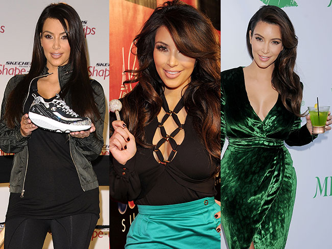 Kim's endorsements