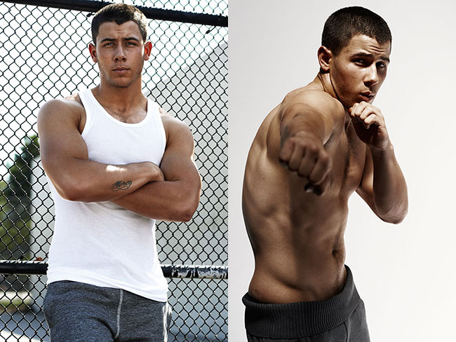 Nick Jonas' sexy Details shoot