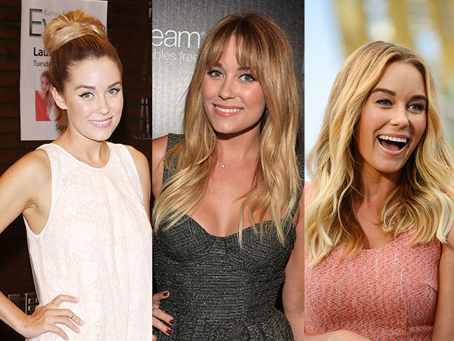 Lauren Conrad's changing hair