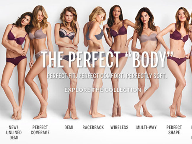 "Victoria's Secret ""Perfect Body"" ad controversy"