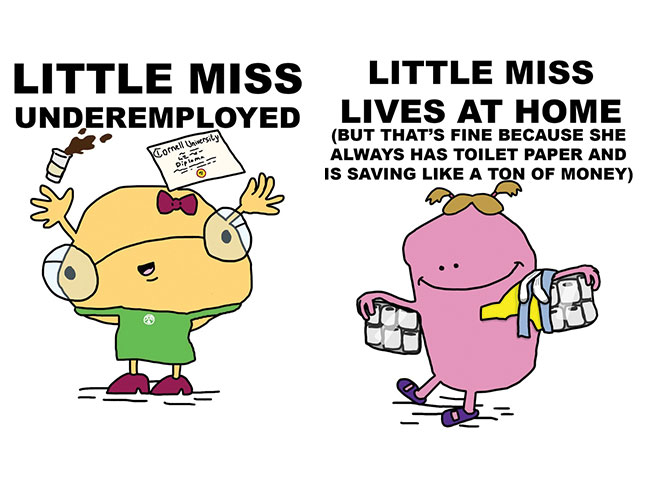 Mr. Men characters for today's youth