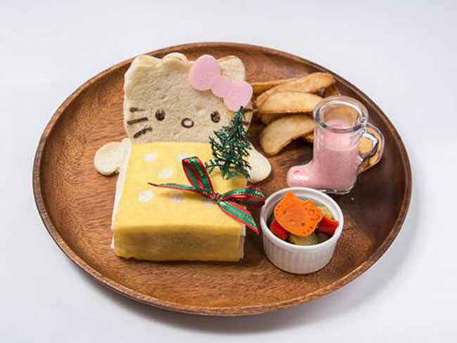 Hello Kitty themed food?!