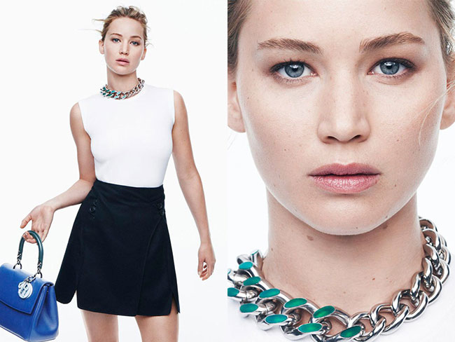 Jennifer Lawrence stuns in new Dior shoot