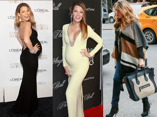 Blake Lively: the most fashionable pregnant woman ever