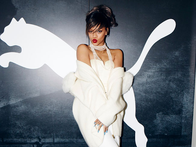 Rihanna named as Puma's new creative director
