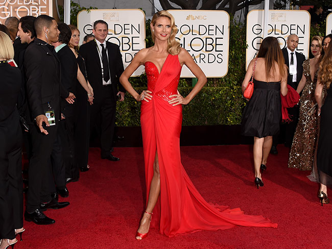 Golden Globes fashion report
