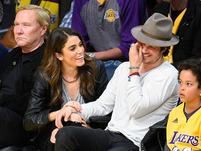 Congrats to Ian Somerhalder and Nikki Reed!