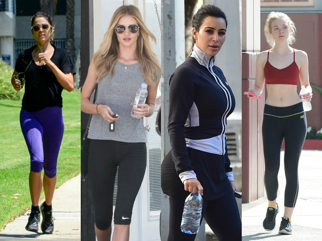 Celeb Workout Gear