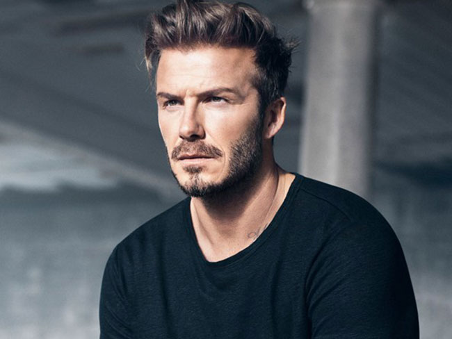 David Beckham strips off for H&M... again!