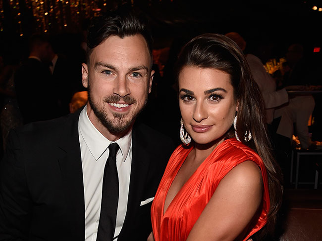 Is Lea Michele engaged?