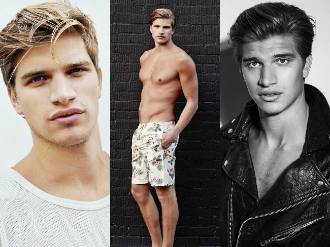 Rosie Huntington-Whiteley's brother makes modelling debut