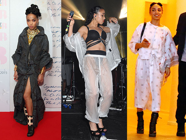 FKA twigs: queen of hobo chic