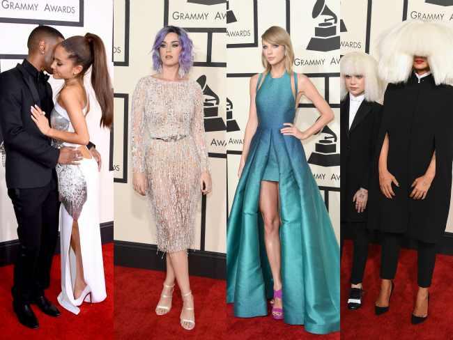 Hot off the Grammys red carpet