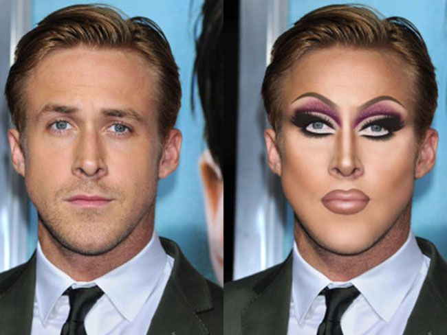 Celebs reimagined as drag queens
