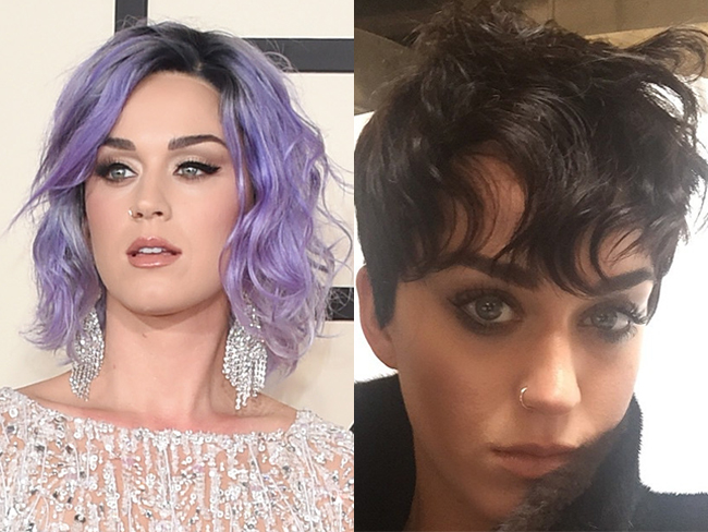 Katy Perry's new 'do.