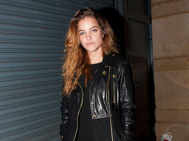 Barbara Palvin's laidback beauty...
