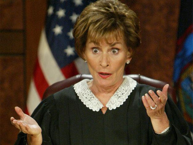 Judge Judy is great in bed, says her husband