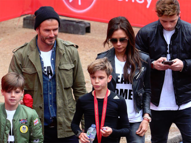 The perfect Beckhams