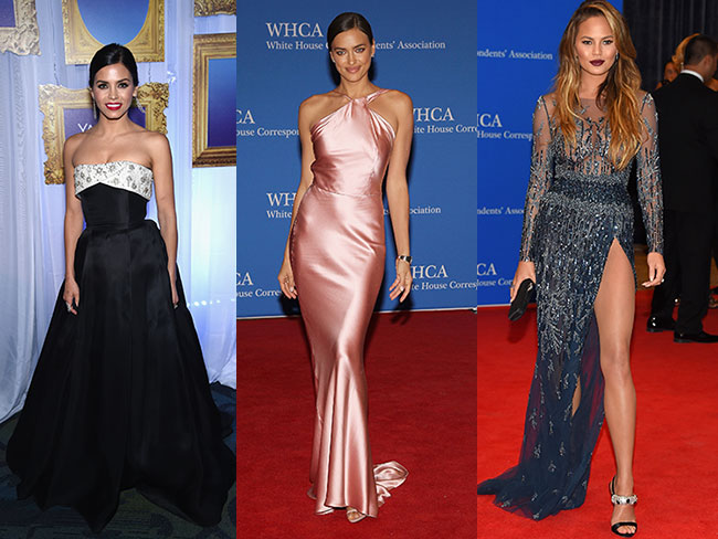 Gorgeous looks from the White House Correspondents' Association Dinner
