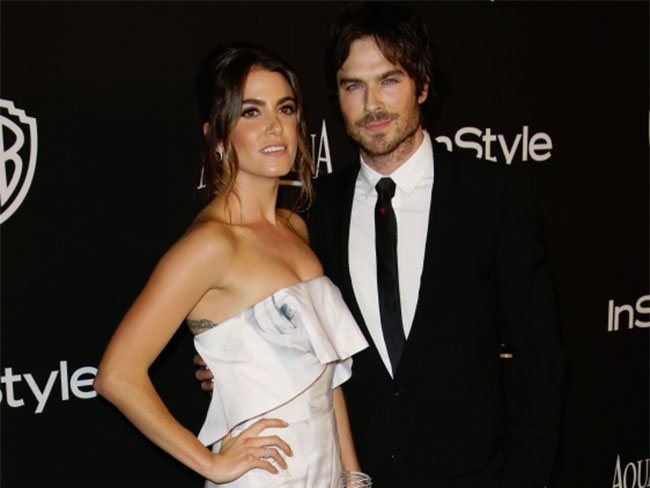 Ian Somerhalder and Nikki Reed have tied the knot