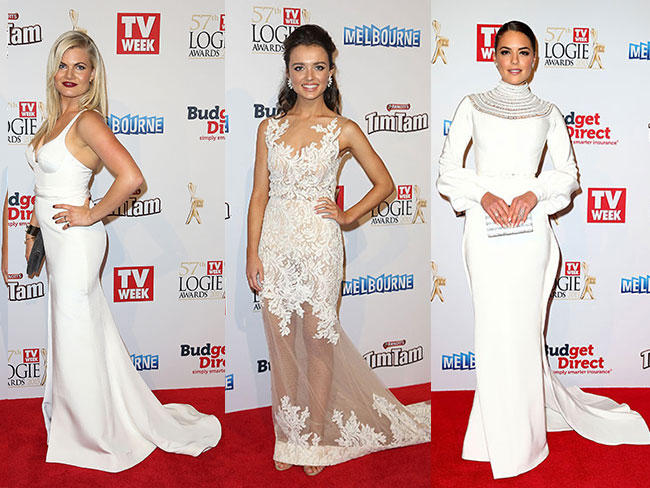 All the stunning looks from the Logies 2015