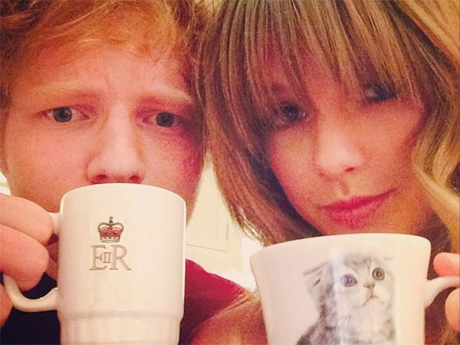 Taylor and Ed = winning at life