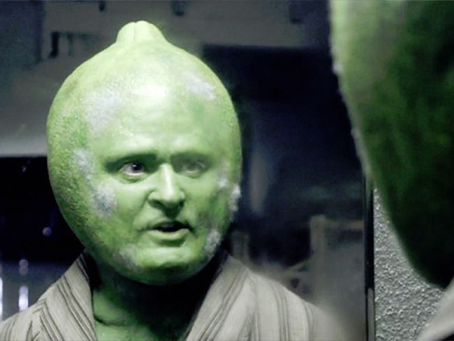 Justin Timberlake plays a mouldy lime